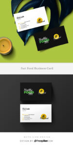 Freepiker | Food And Restaurant Business Card Template pertaining to Restaurant Business Cards Templates Free