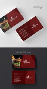 Freepiker | Restaurant Business Card Template with regard to Restaurant Business Cards Templates Free