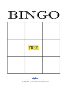 Free+Printable+Blank+Bingo+Cards+Template | Kidsrock | Blank regarding Blank Bingo Card Template Microsoft Word