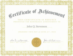 Fresh Army Certificate Achievement Template Example Mughals intended for Army Certificate Of Achievement Template