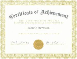 Fresh Army Certificate Achievement Template Example Mughals within Certificate Of Achievement Army Template