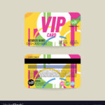 Front And Back Vip Member Card Template Inside Membership Card Template Free