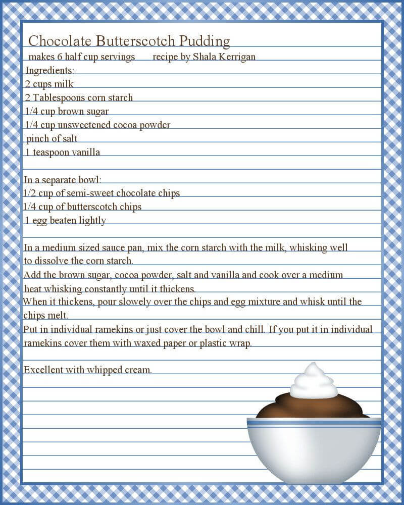 Full Page Recipe Templates - Google Search … | Dyi | Print… Intended For Full Page Recipe Template For Word