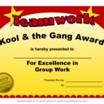 Fun Award Templatefree Employee Award Certificate Templates Intended For Fun Certificate Templates
