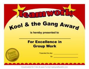 Fun Award Templatefree Employee Award Certificate Templates regarding Free Printable Funny Certificate Templates