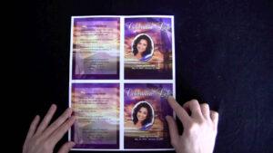 Funeral Memorial Cards in Memorial Card Template Word