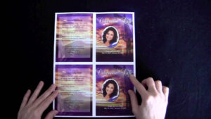 Funeral Memorial Cards with regard to Memorial Cards For Funeral Template Free