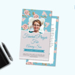 Funeral Request Prayer Card Template In Prayer Card Template For Word