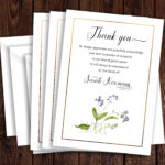 Funeral Thank You Card Template, Sympathy Acknowledgement Regarding Sympathy Thank You Card Template