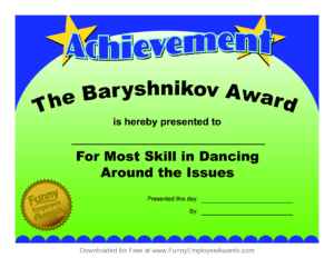 Funny Teacher Awards | Funny Teachers, Award Certificates with Free Printable Funny Certificate Templates
