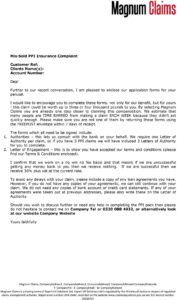 Further To Our Recent Conversation, I Am Pleased To Enclose within Ppi Claim Letter Template For Credit Card