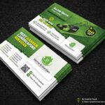 Garden Landscape Business Card Template | Fully Editable Tem For Landscaping Business Card Template