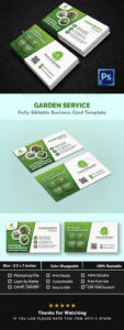 Garden Landscape Business Card Templates – Creative Business with regard to Gardening Business Cards Templates