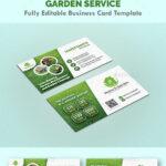 Garden Landscape Business Card Templates – Creative Business With Regard To Gardening Business Cards Templates