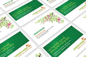 Gardener Business Card Template In Psd, Ai & Vector – Brandpacks for Gardening Business Cards Templates