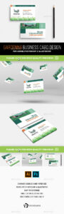 Gardening Business Card Templates & Designs From Graphicriver inside Gardening Business Cards Templates