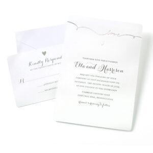 Gartner Studios Love Invitations, 50 Piece in Gartner Studios Place Cards Template
