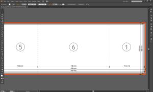 Gate Fold Brochure Template 5X11 Double Layoutdesign with Gate Fold Brochure Template Indesign