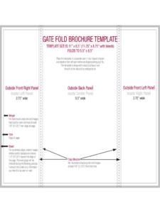 Gate Fold Brochure Template. Tutorial Sweet Gate Fold throughout Gate Fold Brochure Template Indesign