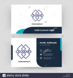 Generic, Business Card Design Template, Visiting For Your intended for Generic Business Card Template