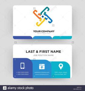 Generic, Business Card Design Template, Visiting For Your with Generic Business Card Template
