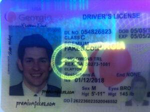 Georgia Fake Id pertaining to Georgia Id Card Template
