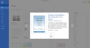 Get Microsoft's Best Graduation Templates with regard to Graduation Invitation Templates Microsoft Word
