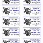 Get Out Of Jail Free Card Template Five Easy Ways To Within Get Out Of Jail Free Card Template