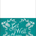 Get Well Soon Card Template | Free Printable Papercraft With Regard To Get Well Card Template