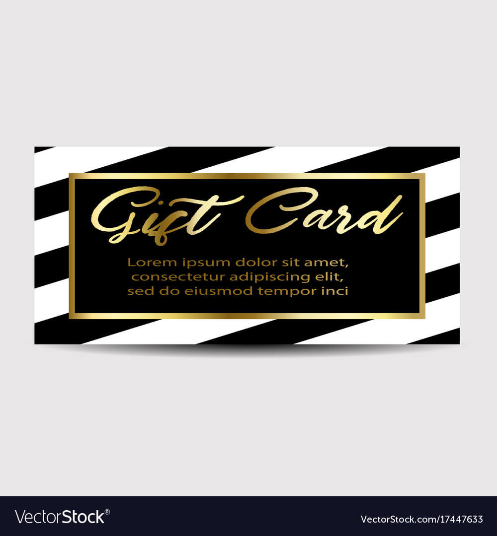 Gift Card Layout Template Intended For Gift Card Template Illustrator