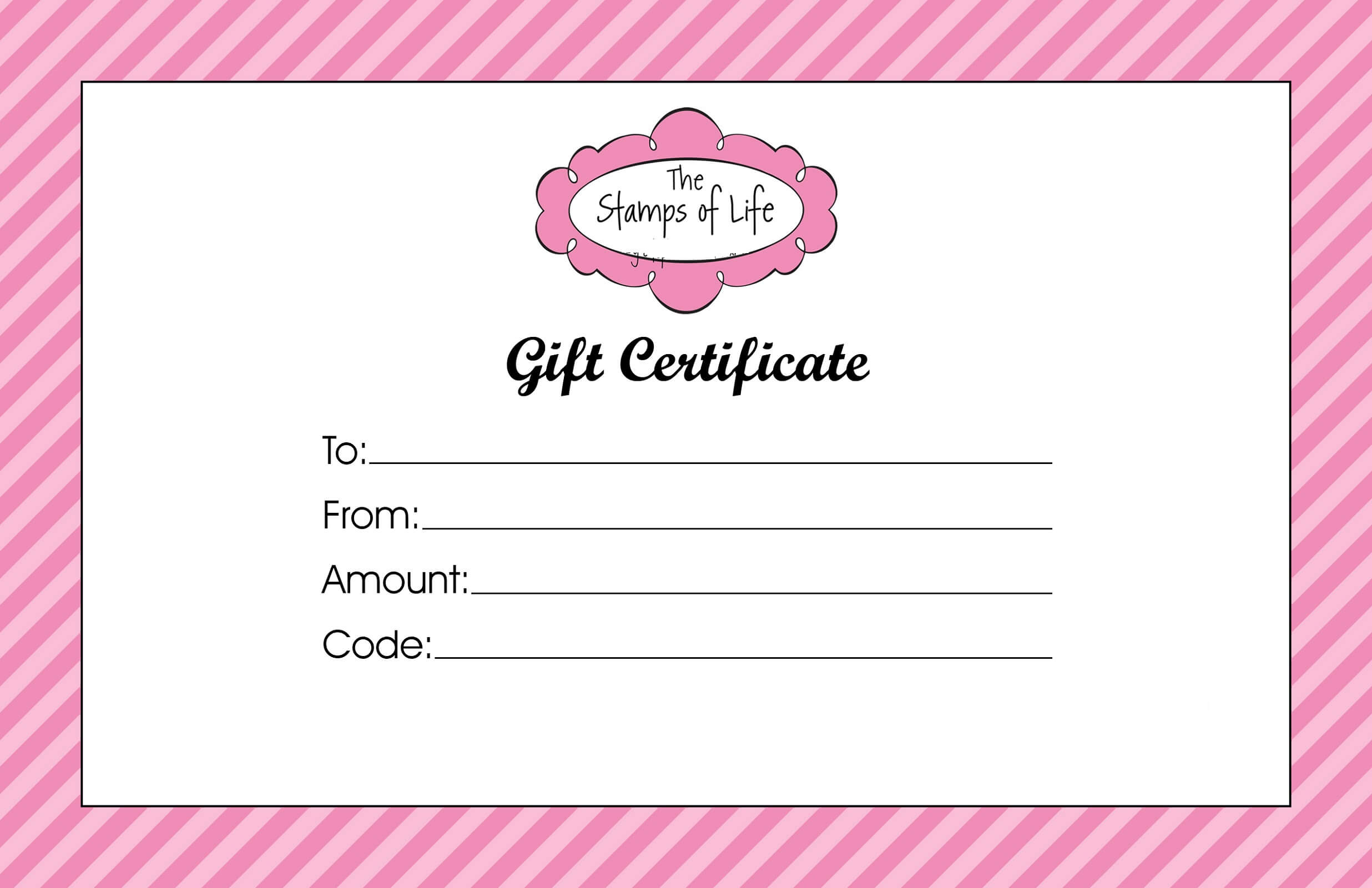 Gift Certificate Templates To Print | Activity Shelter Within Mary Kay Gift Certificate Template