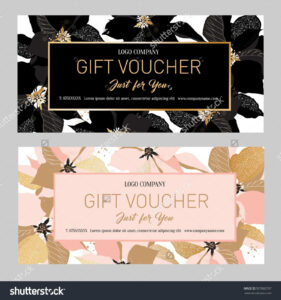 Gift Premium Certificate. Gift Card. Gift Voucher. Coupon intended for Salon Gift Certificate Template