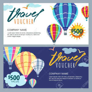Gift Travel Voucher Template. With Regard To Free Travel Gift Certificate Template