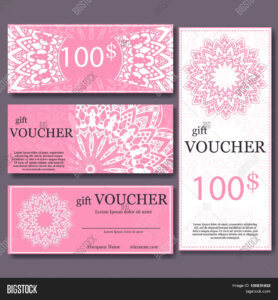 Gift Voucher Template Vector & Photo (Free Trial) | Bigstock with regard to Magazine Subscription Gift Certificate Template