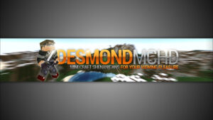 Gimp | Minecraft Youtube Banner Template [No Photoshop] Pertaining To Gimp Youtube Banner Template