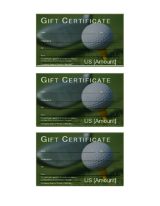 Golf Gift Certificate – Download This Free Printable Golf inside Golf Certificate Template Free