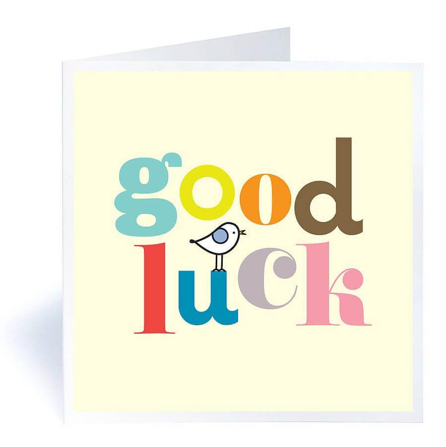 "Good Luck""   Luck   Good Luck Cards, Exam Success Wishes Regarding Good Luck Card Templates"