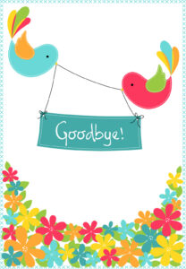 Goodbye From Your Colleagues – Good Luck Card (Free with Good Luck Card Template