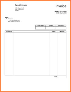 Google Docs Template Templates Word Google Docs Templates regarding Commercial Invoice Template Word Doc