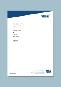 Government Insurance Agency Letterhead #cordestra #word intended for Headed Letter Template Word