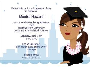 Graduation Invitations: Graduation Invitation Templates with Graduation Invitation Templates Microsoft Word