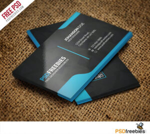 Graphic Designer Business Card Template Free Psd | Psd Print intended for Name Card Template Psd Free Download