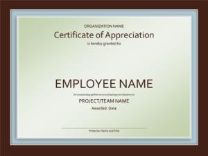 Great-Job-New Award Certificates Template within Good Job Certificate Template