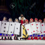 Green Bay, Wi – March 10: Queen Of Hearts And Card Soldiers.. Inside Alice In Wonderland Card Soldiers Template