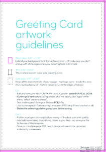 Greeting Card Design Guidelines & Artwork Templates | Moo within Birthday Card Template Indesign