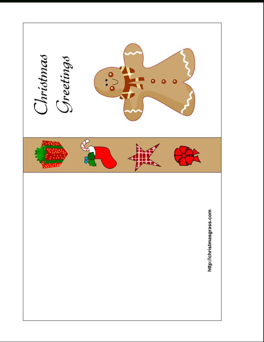 Greeting Card Templates Free Printable – Hizir.kaptanband.co Within Printable Holiday Card Templates