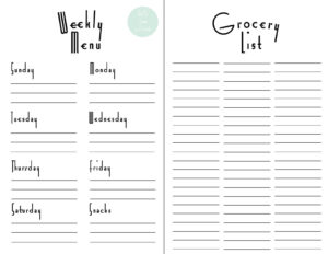 Grocery List Template Excel | Glendale Community Throughout Christmas Card List Template