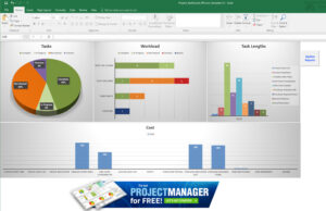 Guide To Excel Project Management – Projectmanager With Regard To Project Status Report Dashboard Template
