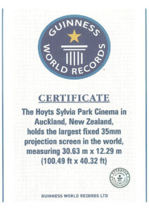 Guinness Certificate – Specialty Cinema regarding Guinness World Record Certificate Template