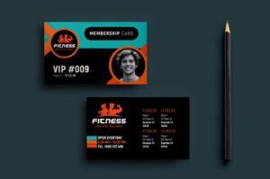 Gym Fitness Membership Card Template In Psd Ai Vector within Gym Membership Card Template